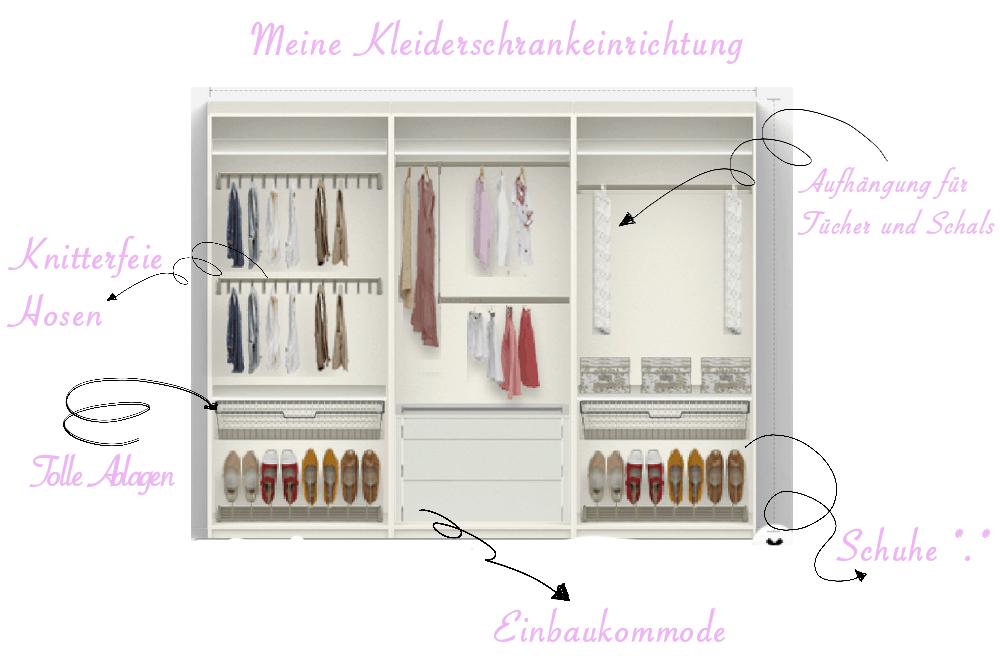 Großartig Perfekte Aufteilung Kleiderschrank Zeitgenössisch - Die ...