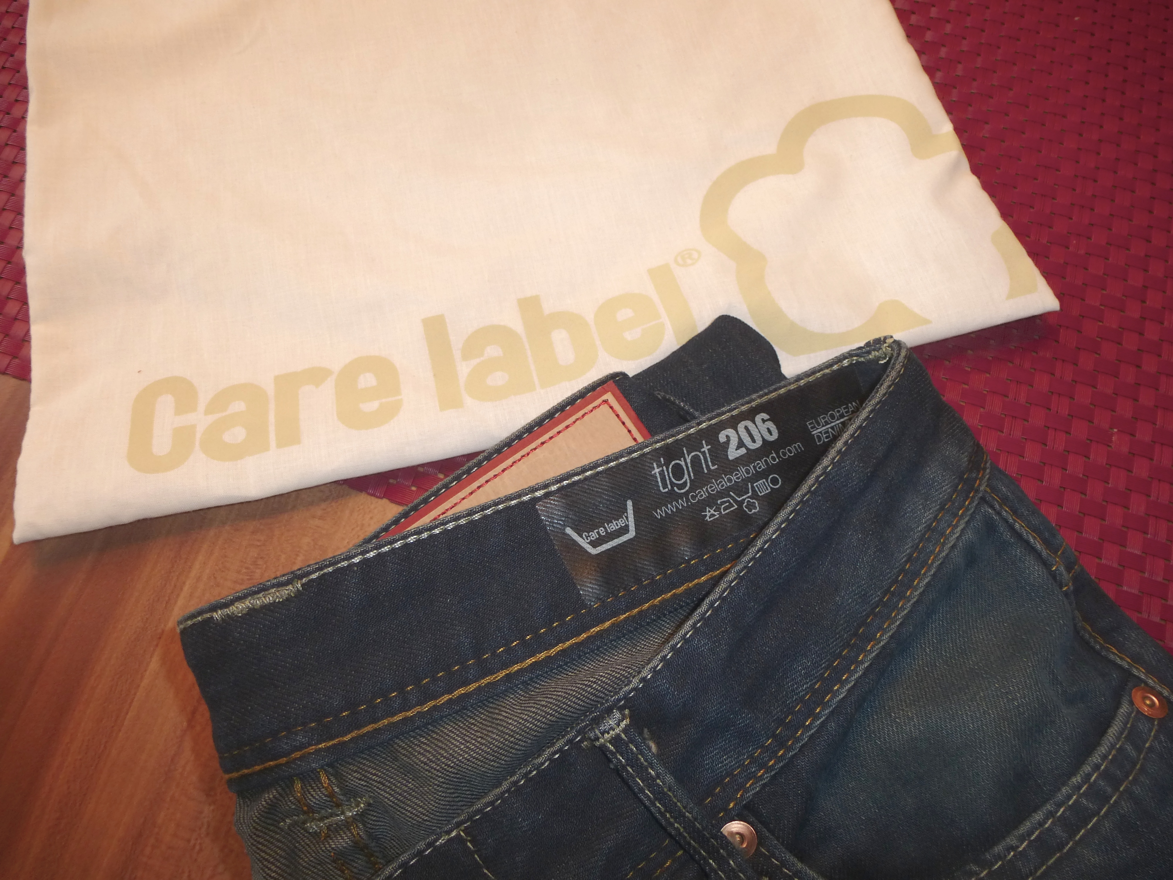 Jeans Care Label