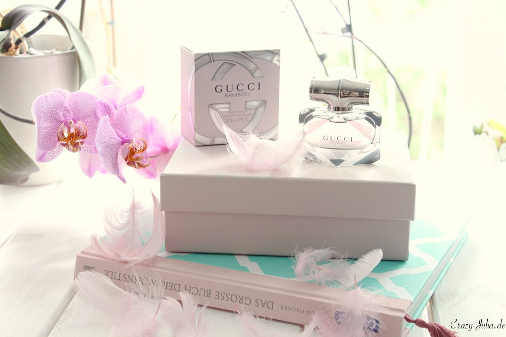 Flowers and Gucci Bamboo