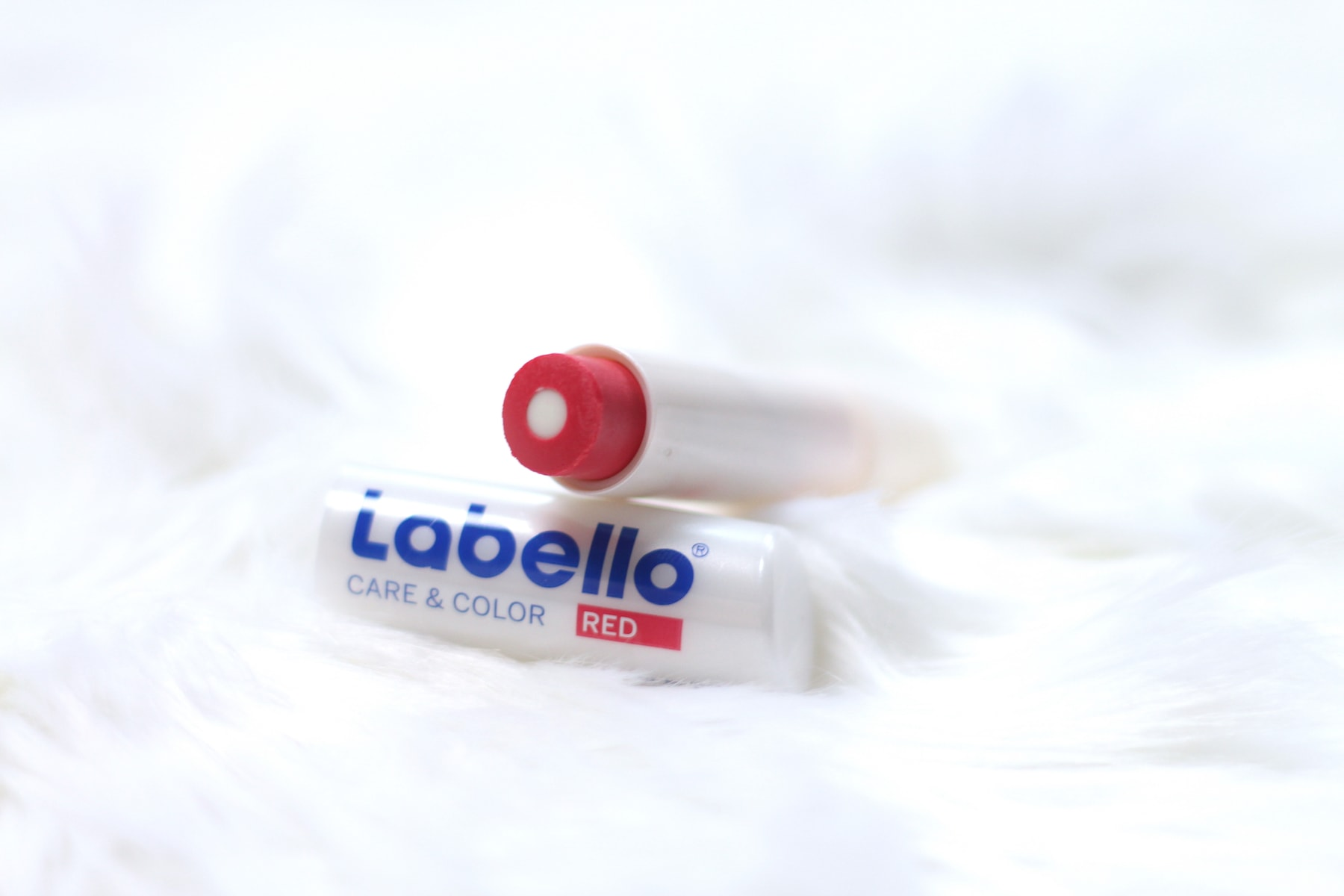 Labello Care and Color red
