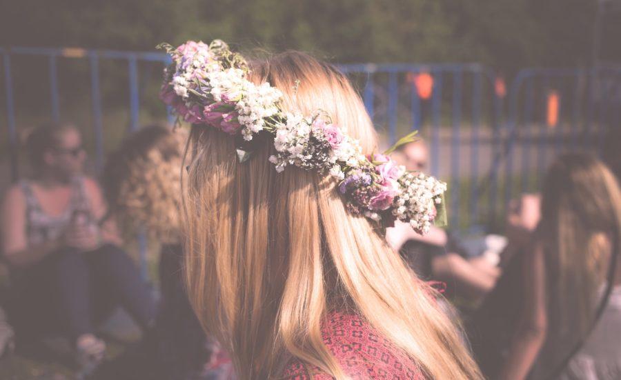 Ethno-Style Flower Crown