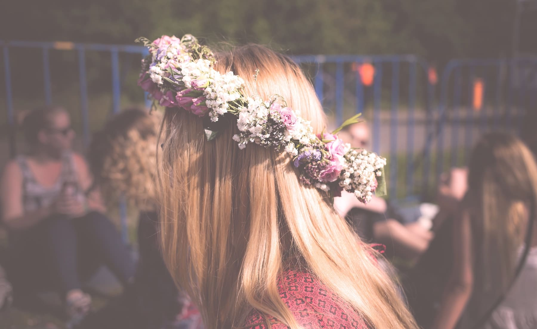 Ethno-Style Flower Crown