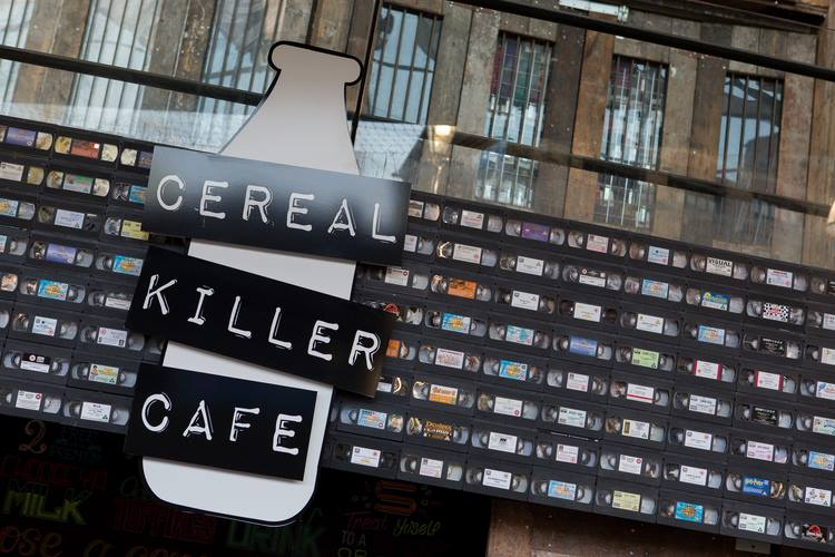Cereal Killer Cafe Camden London