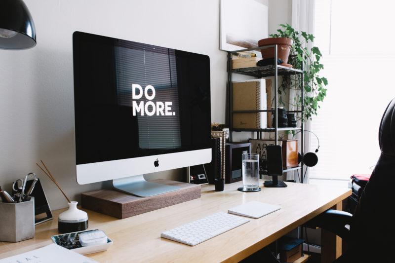 Desk Photo via Unsplash