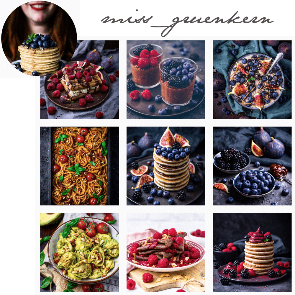 Instagram Food Blogs miss_gruenkern