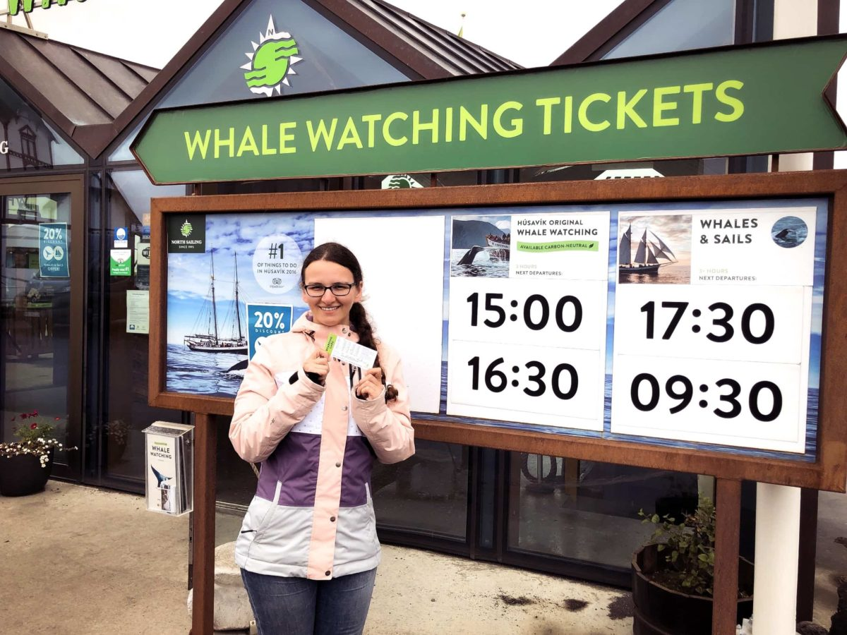 Whale Watching Tickets