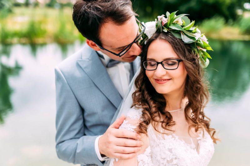 strahlende Haut zur Hochzeit